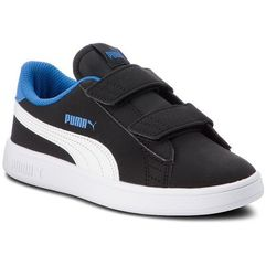 Półbuty PUMA - Smash V2 Buck V Ps 365183 04 Puma Blk/Puma Wh/Strong Blue