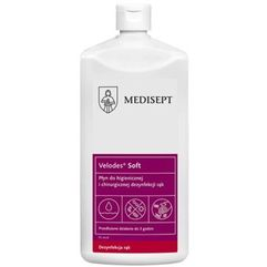 MEDI-LINE VELODES SOFT Płyn do dezynfekcji rąk 500 ml (ref. SSE-43-GOT-ML542) (5907626633542)