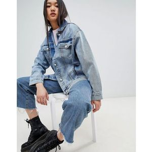 Cheap monday upsize denim jacket - blue