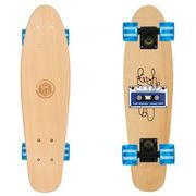 Deskorolka fishskateboards wood tape / black / transparent blue marki Fish skateboards