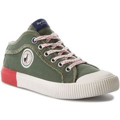 Trampki PEPE JEANS - Industry Ziggy PBS30339 Military Olive 741
