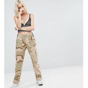 revived military trousers in camo - beige, Reclaimed vintage