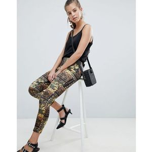 ornate print trousers - gold, Oeuvre
