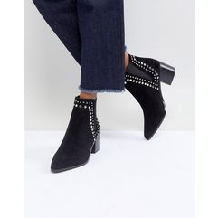 ALDO Kiralia Studded Leather Ankle Boot - Black