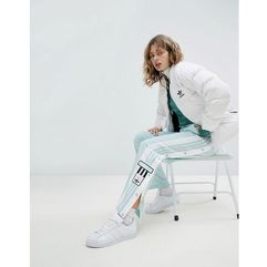 adidas Originals adicolor Popper Pants In Mint - Green