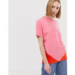 clrdo t-shirt in pink and orange - pink, Adidas originals