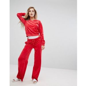 wide leg trackpant - red marki Juicy couture