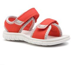 Sandały - surfing tide t 261408537 orange syn marki Clarks