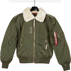 Alpha industries injector iii 257 dark green - kurtka męska - zielony