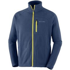 COLUMBIA bluza polarowa Fast Trek II Full Zip Fleece Collegiate Navy Antique Moss S