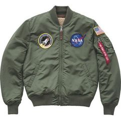 Alpha industries ma 1 vf nasa 01 - kurtka męska