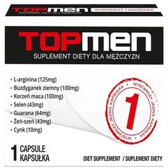 Top men silny suplement na erekcję marki Sexual health series