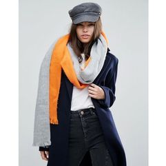 Asos deconstructed scarf in colour block - multi