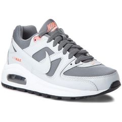 Buty NIKE - Air Max Command Flex (GS) 844349 001 Cool Grey/Pure Platinum