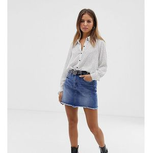 Pimkie mini denim skirt in blue - Blue