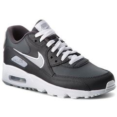 Buty NIKE - Air Max 90 Ltr (GS) 833412 021 Anthracite/Wolf Grey/White, kolor szary