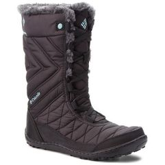 Śniegowce COLUMBIA - Youth Minx Mid III Wp Omni-Heat BY5949 Black/Iceberg 010