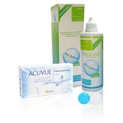Johnson&jochnson Acuvue oasys 6 szt. + evo2lution soft 360 ml