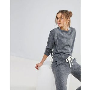 Micha Lounge Tie Detail Jumper - Grey, kolor szary