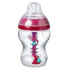 Tommee tippee Butelka antykolkowa 260 ml girl advanced (r�owa)