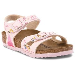Birkenstock Sandały - rio kids 1008670 disney princess rose