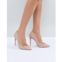 heeled court shoe - beige marki Aldo