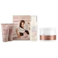 Alfaparf LD Keratin Therapy Smoothing Treatment Kit + Wella Fusion Intense Repair Mask 500ml