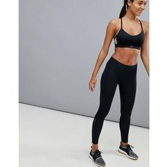 Adidas alphaskin leggings in black - black