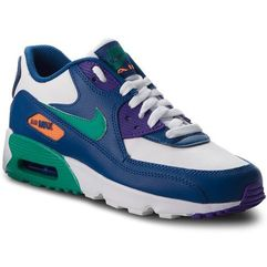 Buty NIKE - Air Max 90 Ltr (GS) 833412 410 Gym Blue/Neptune Green/Cone, kolor wielokolorowy