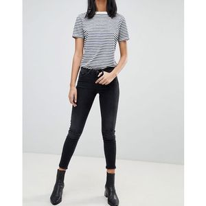 sal cropped skinny jeans - black, Blend she