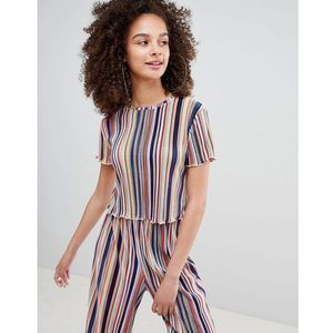 Bershka stripe top in multi - Multi, w 2 rozmiarach