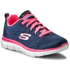 Buty SKECHERS - High Energy 81655L/NVHP Nvy/Htpink