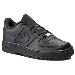 Nike Buty - air force 1 (gs) 314192 009 black/black