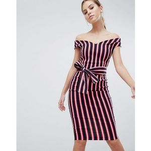 stripe pencil dress - multi, Vesper