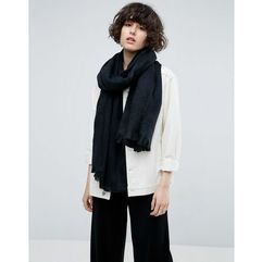 ASOS Supersoft Long Woven Scarf - Black