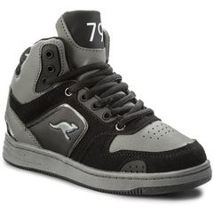 Buty - k-baskled ii 18127 000 5003 m jet black/steel grey marki Kangaroos