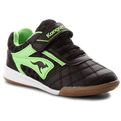 Buty KANGAROOS - Power Comb Ev 18063 000 5800 Black/Lime, kolor czarny