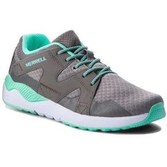 Merrell Sneakersy - 1six8 lace my58584 grey/turq