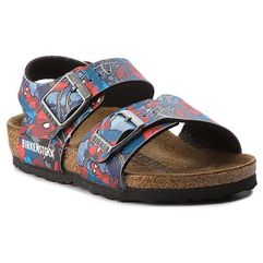 Sandały - new york kids bs 1004374 spiderman action blue marki Birkenstock