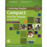 Compact First for Schools 2nd Edition. Podręcznik z Kluczem + CD (9781107415607)