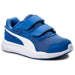Sneakersy PUMA - Escaper Mesh V Ps 190326 07 Blue/White/Ribbon Red, kolor niebieski