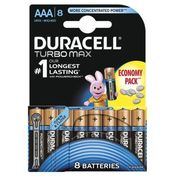 Duracell Baterie turbo max aaa 8szt.