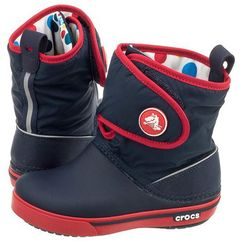 Trzewiki Crocs Crocband II.5 Gust Boot Kids Navy-Red 12905 (CR43-a), 12905