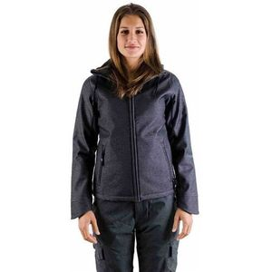 Light Kurtka - softshell pipa black denim (403) rozmiar: s