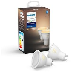 8718699629298 Philips HueAmbiance 5.5W GU10 EUR 2Pack HUE Bluetooth, 8718699629298