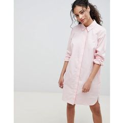 ASOS DESIGN cotton shirt mini dress - Pink