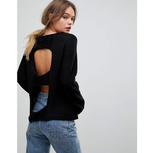 light wool blend knit jumper - black marki H.one