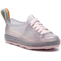 Melissa Półbuty - mel be rainbow inf 32638 glass holographic pink 53385