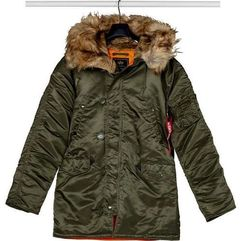 Alpha Industries N3B VF 59 257 DARK GREEN - Kurtka Męska