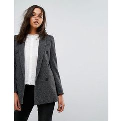 astrid tailored twill jacket - grey, Allsaints